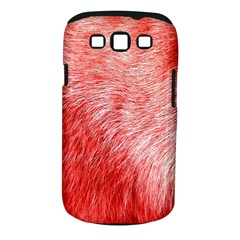 Pink Fur Background Samsung Galaxy S III Classic Hardshell Case (PC+Silicone)