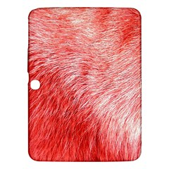 Pink Fur Background Samsung Galaxy Tab 3 (10.1 ) P5200 Hardshell Case