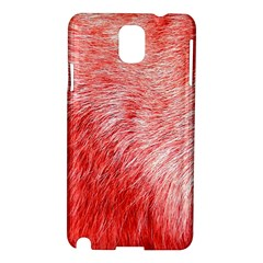 Pink Fur Background Samsung Galaxy Note 3 N9005 Hardshell Case