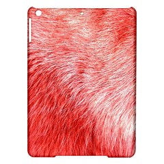Pink Fur Background iPad Air Hardshell Cases