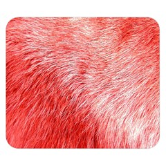Pink Fur Background Double Sided Flano Blanket (Small)