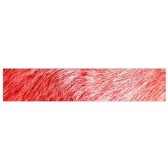 Pink Fur Background Flano Scarf (Small)