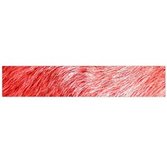 Pink Fur Background Flano Scarf (Large)