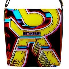 RESIDENT ANGE Flap Messenger Bag (S)