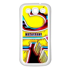 RESIDENT ANGE Samsung Galaxy S3 Back Case (White)
