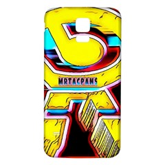 RESIDENT ANGE Samsung Galaxy S5 Back Case (White)