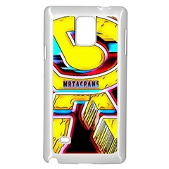 RESIDENT ANGE Samsung Galaxy Note 4 Case (White)