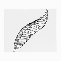 Feather Line Art Small Glasses Cloth (2 Side)