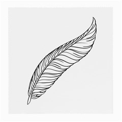 Feather Line Art Medium Glasses Cloth (2 Side)