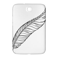 Feather Line Art Samsung Galaxy Note 8 0 N5100 Hardshell Case