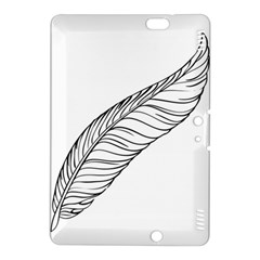 Feather Line Art Kindle Fire HDX 8.9  Hardshell Case