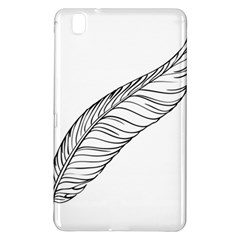 Feather Line Art Samsung Galaxy Tab Pro 8.4 Hardshell Case