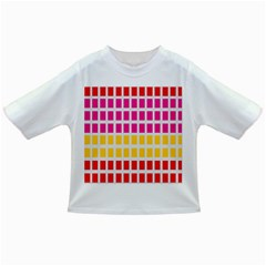 Squares Pattern Background Colorful Squares Wallpaper Infant/toddler T Shirts