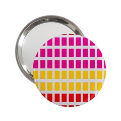 Squares Pattern Background Colorful Squares Wallpaper 2 25  Handbag Mirrors