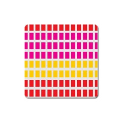 Squares Pattern Background Colorful Squares Wallpaper Square Magnet