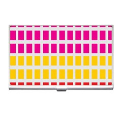 Squares Pattern Background Colorful Squares Wallpaper Business Card Holders