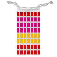 Squares Pattern Background Colorful Squares Wallpaper Jewelry Bag