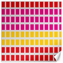 Squares Pattern Background Colorful Squares Wallpaper Canvas 12  X 12