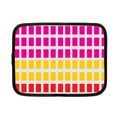 Squares Pattern Background Colorful Squares Wallpaper Netbook Case (Small)