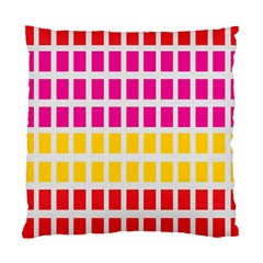 Squares Pattern Background Colorful Squares Wallpaper Standard Cushion Case (two Sides)