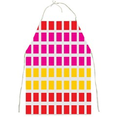 Squares Pattern Background Colorful Squares Wallpaper Full Print Aprons