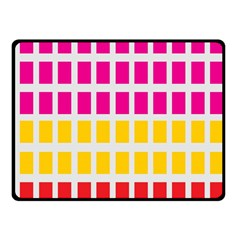 Squares Pattern Background Colorful Squares Wallpaper Fleece Blanket (small)
