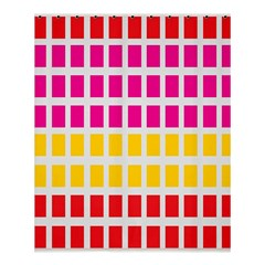 Squares Pattern Background Colorful Squares Wallpaper Shower Curtain 60  X 72  (medium)