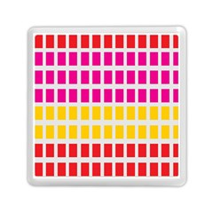 Squares Pattern Background Colorful Squares Wallpaper Memory Card Reader (square)