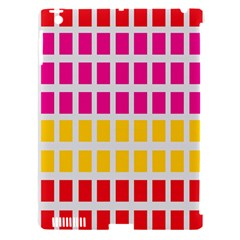 Squares Pattern Background Colorful Squares Wallpaper Apple iPad 3/4 Hardshell Case (Compatible with Smart Cover)