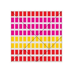 Squares Pattern Background Colorful Squares Wallpaper Acrylic Tangram Puzzle (4  x 4 )