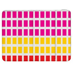 Squares Pattern Background Colorful Squares Wallpaper Samsung Galaxy Tab 7  P1000 Flip Case