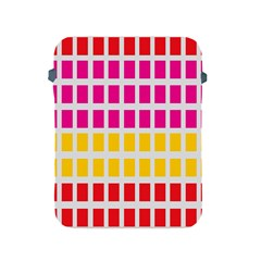 Squares Pattern Background Colorful Squares Wallpaper Apple iPad 2/3/4 Protective Soft Cases