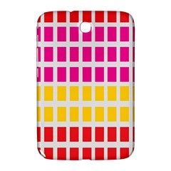 Squares Pattern Background Colorful Squares Wallpaper Samsung Galaxy Note 8.0 N5100 Hardshell Case