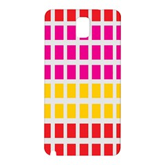 Squares Pattern Background Colorful Squares Wallpaper Samsung Galaxy Note 3 N9005 Hardshell Back Case