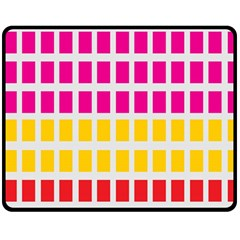 Squares Pattern Background Colorful Squares Wallpaper Double Sided Fleece Blanket (medium)