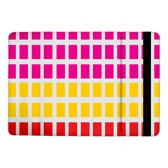 Squares Pattern Background Colorful Squares Wallpaper Samsung Galaxy Tab Pro 10.1  Flip Case