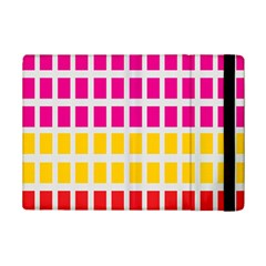 Squares Pattern Background Colorful Squares Wallpaper Ipad Mini 2 Flip Cases