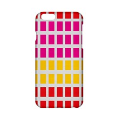 Squares Pattern Background Colorful Squares Wallpaper Apple iPhone 6/6S Hardshell Case
