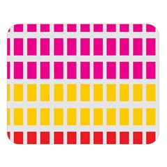 Squares Pattern Background Colorful Squares Wallpaper Double Sided Flano Blanket (Large)