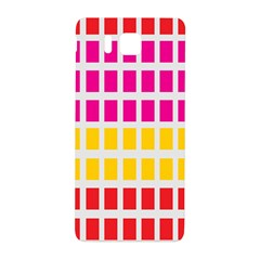 Squares Pattern Background Colorful Squares Wallpaper Samsung Galaxy Alpha Hardshell Back Case
