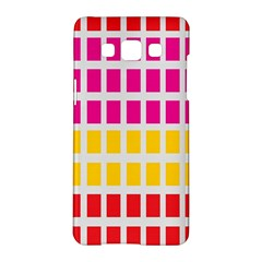Squares Pattern Background Colorful Squares Wallpaper Samsung Galaxy A5 Hardshell Case