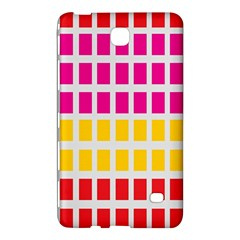 Squares Pattern Background Colorful Squares Wallpaper Samsung Galaxy Tab 4 (7 ) Hardshell Case