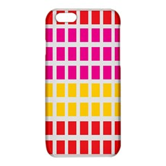 Squares Pattern Background Colorful Squares Wallpaper iPhone 6/6S TPU Case