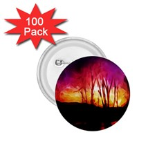 Fall Forest Background 1 75  Buttons (100 Pack)