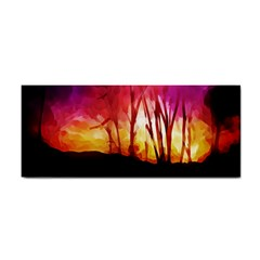 Fall Forest Background Cosmetic Storage Cases