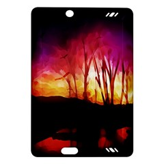 Fall Forest Background Amazon Kindle Fire HD (2013) Hardshell Case