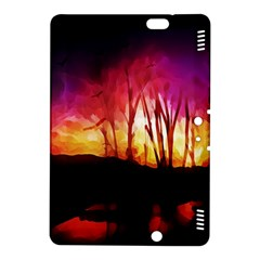 Fall Forest Background Kindle Fire HDX 8.9  Hardshell Case