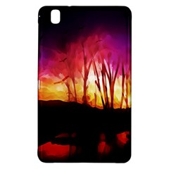 Fall Forest Background Samsung Galaxy Tab Pro 8.4 Hardshell Case
