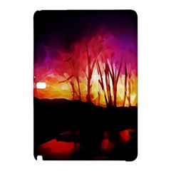 Fall Forest Background Samsung Galaxy Tab Pro 12.2 Hardshell Case