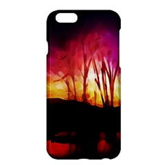 Fall Forest Background Apple iPhone 6 Plus/6S Plus Hardshell Case